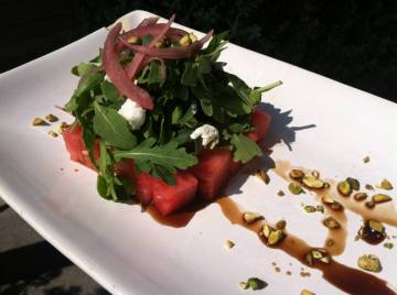BV Watermelon Salad with Soy Goat Cheese - Copy