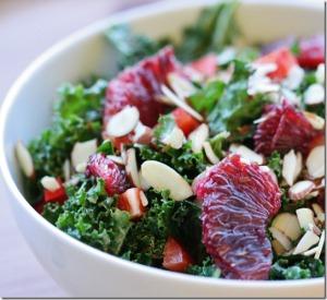 blood orange salad